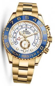 Replique Rolex Yacht-Master II Or jaune 116688