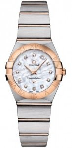 Replique Omega Constellation Brushed 24mm Dames 123.20.24.60.55.