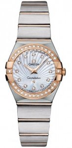 Replique Omega Constellation Brushed 24mm Dames 123.25.24.60.55.