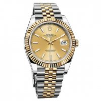 Replique Rolex Oyster Perpetual Datejust 41 Gold & Inoxydable Ac