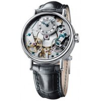 Replique Breguet Tradition Hand Wound 37mm Or blanc 7027BB/11/9V