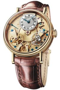 Replique Breguet Tradition Automatique 38mm Or jaune 7037BA/11/9