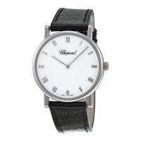 Replique Chopard Classic hand-wound in 18-carat Blanc Or 163154-