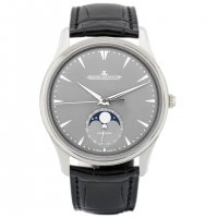 Jaeger LeCoultre Master Ultra Thin Moon Or Blanc Automatique Replique Montre Homme