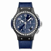 Hublot Big Bang Ceramique Bleu Diamants 41mm