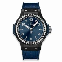 Hublot Big Bang Ceramique Bleu Diamants 38mm