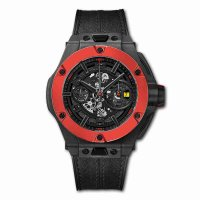 Hublot Big Bang Ferrari Chronographe Unico Carbone Rouge Ceramique 45mm