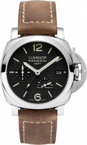 Panerai Luminor 1950 3 Jours GMT Reserve de Marche Automatique Acciaio PAM00537