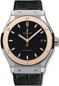 Replique Hublot Classic Fusion 45 mm Titane King Gold 511.NO.118