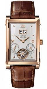 Replique A. Lange & Sohne Cabaret Tourbillon Manuel Rose Or 703.