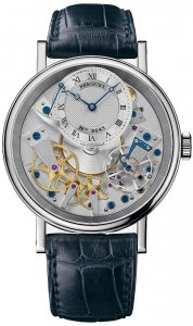 Replique Breguet Tradition Hand Wound 40mm Or blanc 7057BB/11/9W