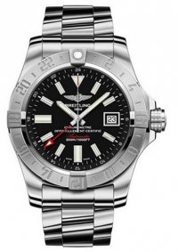 Replique Breitling Avenger II GMT Hommes A3239011/BC35/153S/A20D