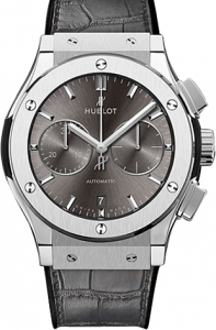 Replique Hublot Classic Fusion 45mm Chronographe Titane 521.NX.7