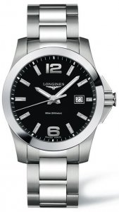 Replique Longines Conquest Quartz 41mm Hommes L3.659.4.58.6