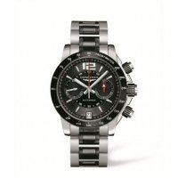 Replique Longines Admiral Chronographe Ceramique L3.667.4.56.7