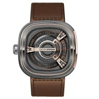 Replique SevenFriday M2-2 en acier inoxydable/PVD et or rose
