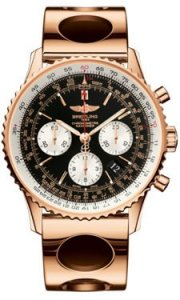 Replique Breitling Navitimer 01 Or rose Air Racer Bracelet RB012