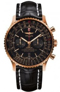 Replique Breitling Navitimer 01 46mm Or rouge Hommes RB012824.BE
