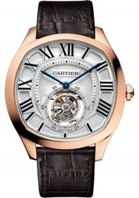 Replique Cartier Drive de Cartier Flying Tourbillon W4100013
