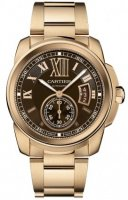 Replique Cartier Calibre de Cartier 42mm Hommes W7100040
