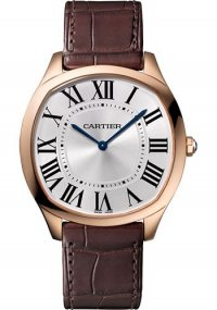 Replique Cartier Drive de Cartier Extra-Flat Or Rose Hommes WGNM