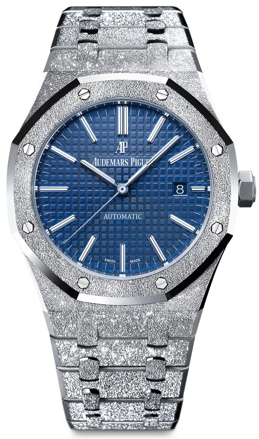 Replique Audemars Piguet Royal Oak 41mm Frosted Gold 15410BC.GG.