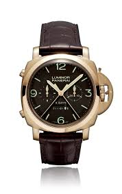 Panerai Luminor 1950 Rattrapante 8 Jours Oro Rosa PAM00319