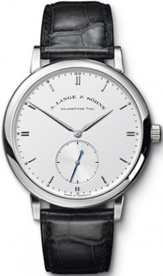 Replique A. Lange & Sohne Grand Saxonia Automatique Or blanc 307
