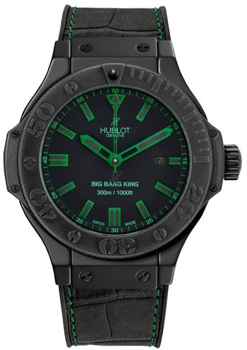 Replique Hublot Big Bang All Black Roi Vert 48mm Hommes 322.CI.1