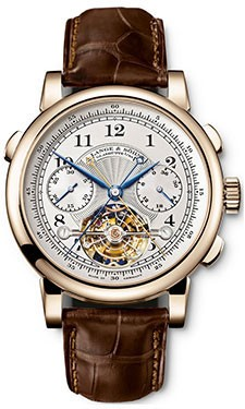 Replique A. Lange & Sohne Datograph Flyback Double Tourbillon 71