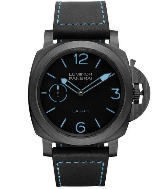 Replique Panerai Luminor 1950 Carbotech 3 Jours Lab-ID PAM00700