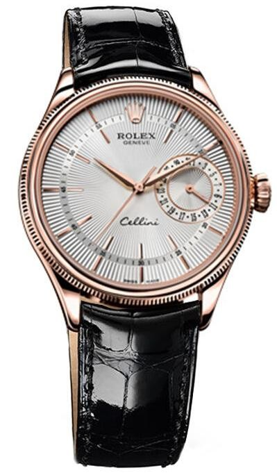 Replique Rolex Cellini Date Everose Gold 50515 sbr