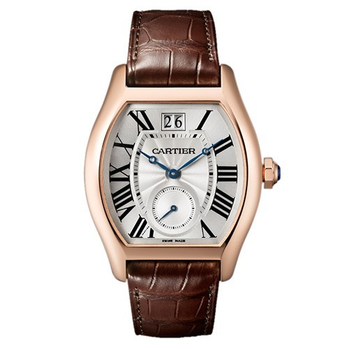 Replique Cartier Tortue Grande Date Petite seconde W1556234