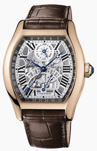 Replique Cartier Tortue Automatique Perpetual Calendar W1580047