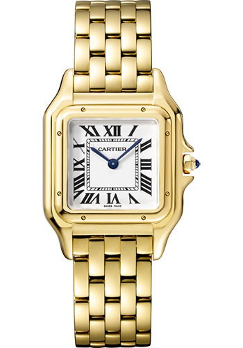 Replique Cartier Panthere de Cartier Moyen Or Jaune WGPN0009