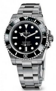 Réplique Rolex Submariner ceramique Lunette 40mm Non Date 114060