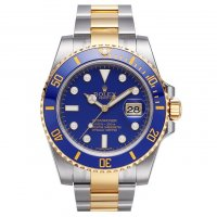 Réplique Rolex Submariner Ivoire Dial 18k or rose bracelet en cu