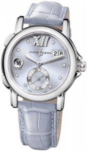 Réplique Ulysse Nardin Dual Time Dame Small Second 243-22/30-07