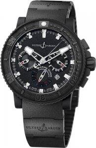 Réplique Ulysse Nardin Black Sea Chronographe 353-92-3C