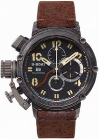 Réplique U-Boat Automatique Carbonio GMT Chronographe Edition li