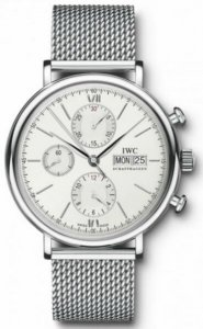 Réplique IWC Portofino Automatique Chrono Day Date Montre Homme